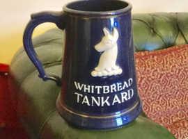 Whitbread Tankard 4 Pints.