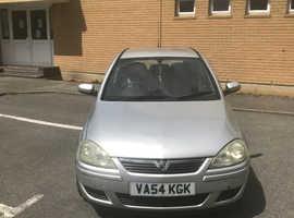 Vauxhall Corsa, 2005 (54) Silver Hatchback, Manual Petrol, 96,000 miles