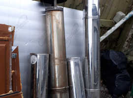 Stainless Steel twin wall chimney flue