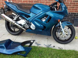 Cbr 600 f3 colour change