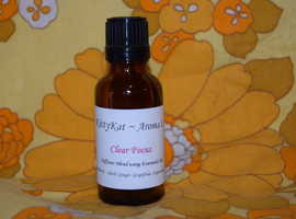 Clear Focus Essential Oil Blend for the diffuser to help you focus and concerntrate ~ 30ml thats approx 600 drops