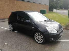 Ford Fiesta, 2005 (55) Black Hatchback, Manual Petrol, 108,079 milesFIESTA ST 2.0L 16v 2005 REG, LONG MOT, CD PLAYER WITH AUX & BLUETOOTH, TINTED WIND