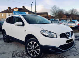 Nissan Qashqai, 2011 (61) White Hatchback, Manual Diesel, 93,218 miles