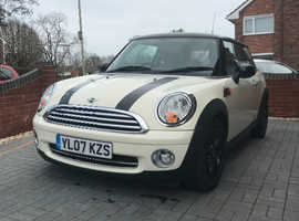 Mini MINI, 2007 (07) White Hatchback, Manual Petrol, 97,700 miles