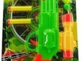 COMBAT SUPER POWER PUMP ACTION BLASTER & TARGETS KIDS TOYS CHILDREN'S TOY