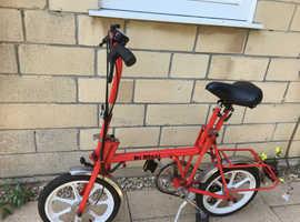 Folding bike - as good as new