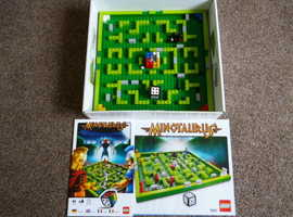 minataurus lego build and play game. excellent condition. great family game