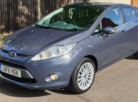 Ford Fiesta Titanium, 1.4 Petrol, Manual, 5dr