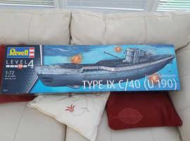 Model U Boat. By Revell
