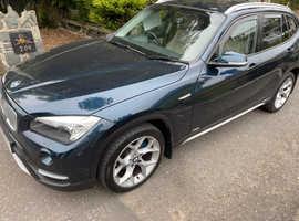 BMW X1, 2014 (14) Blue Estate, Automatic Diesel, 120,000 miles