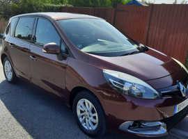 Renault Scenic, 2014 (14) Red MPV, Manual Diesel, 34,203 miles