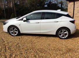 Vauxhall Astra, 2016 (66) White Hatchback, Manual Petrol, 26,195 miles