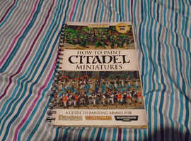 how to paint citadel minitures