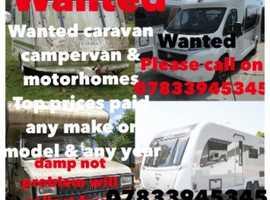 Caravan camper van & motorhomes