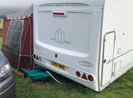 Abbey 330 6 berth.  Stunning family van.