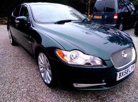 Jaguar XF, 2008 (58) Green Saloon, Automatic Diesel, 51,402 miles