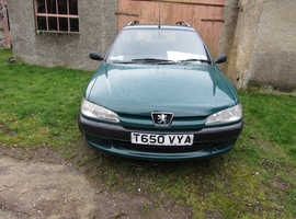 Peugeot 306, 1999 (T) Green Estate, Manual Diesel, 100,400 miles
