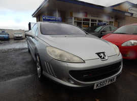 Peugeot 407 V6 GT Coupe, P`EX CONSIDERED