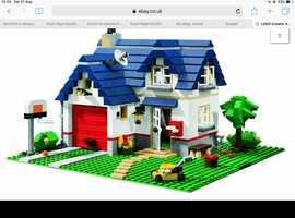 Lego Creator Apple Tree House. With free Smart Car.