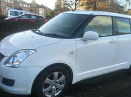 Suzuki Swift, 2009 (09) White Hatchback, Manual Petrol, 93,357 miles