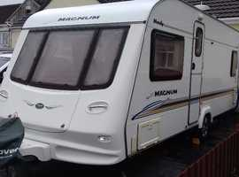 FIXED DOUBLE BED 2004 4 BERTH TOP SPEC COMPASS MENDIP MANUM. MOTOR MOVER. AWNING AND ALL ACCERSSORIES. CARAVAN COVER.