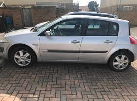Renault Megane, 2005 (05) Silver Hatchback, Manual Diesel, 93,000 miles
