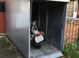 Motor bike lock up