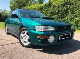 Subaru IMPREZA TURBO 2000 AWD, 1996 (P) Green Estate, Manual Petrol,  miles, Spairs or Repairs