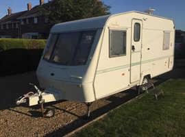 Bargain Elddis 1997 (5 Berth) Family Caravan End L Shape V.G.C & Porch Awning