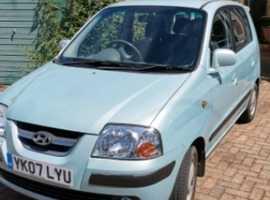 Hyundai Amica, 2007 (07), Manual Petrol, 68,000 miles