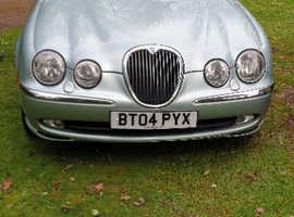 Jaguar S-TYPE, 2004 (04) Silver Saloon, Automatic Petrol, 115,000 miles