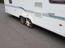 Bessacarr Cameo 645GL twin axle caravan