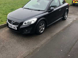Volvo C30, 2009 (59) Black Hatchback, Manual Diesel, 54,000 miles