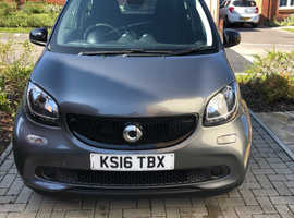 Smart Forfour, 2016 (16) Grey Hatchback, Manual Petrol, 407,100 miles