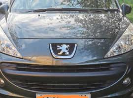 Peugeot 207, 2009 (09) grey estate, Manual Petrol, 51523 miles