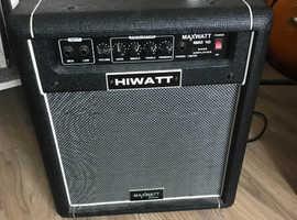 Hiwatt bass practice amp
