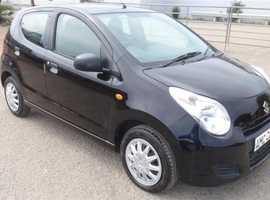 Suzuki Alto, 2009 (09) Black Hatchback, Manual Petrol, 35,000 miles