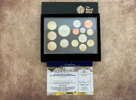 Royal Mint 2011 Proof British Year Set