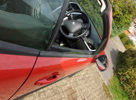 Peugeot 207, 2008 (08) Red Convertible, Manual Petrol, 49,898 miles