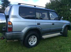 Toyota LAND CRUISER, 1998 (R) Silver Estate, Manual Diesel, 125,000 miles