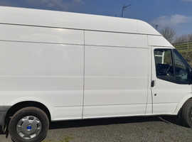 Ford transit long wheel base high top-white