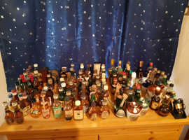 350 unopened miniatures a must see