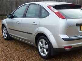 Ford Focus, 2006 (06) Silver Hatchback, Manual Petrol, 130,000 miles
