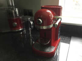 KitchenAid Nespresso machine Empire Red