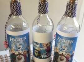 Frozen light up bottles for sale