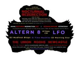 Nocturnal Rezerection Old Skool party for Over 30s at Union Rooms Newcastle.