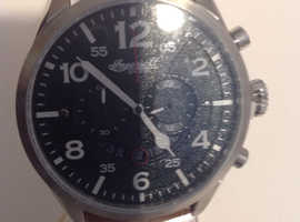 MENS INGERSOLL COMPTON CHRONOGRAPH WATCH INQ029GRSL NEW & Boxed