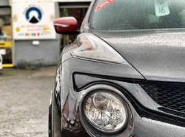 2015/15 Nissan Juke 1.6 DIG-T Nismo RS finished in Phantom Black Metallic.  52915 miles