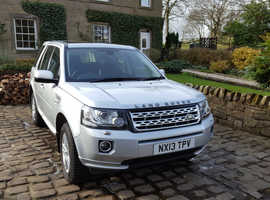 Land Rover Freelander, 2013 (13) Silver Estate, Manual Diesel, 38,000 miles