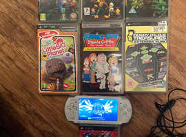 Sony PSP slim lite version with 51 games